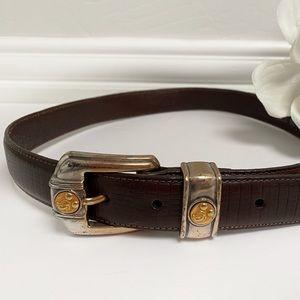 Vintage Brighton Mickey & Co. Leather Belt